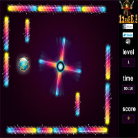 Thumbnail of Neon Ball Maze