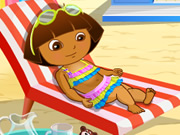 Dora At Beach thumbnail