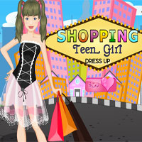 Thumbnail of Shopping Teen Girl Dress UP