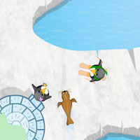 Thumbnail of Penguin Skating 2