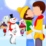 Christmas Love Kissing thumbnail