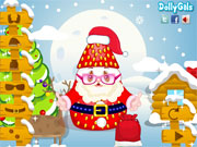 Thumbnail of Strawberry Santa Cooking and Dressup