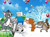Thumbnail of Cartoon Hero Xmas Fighting