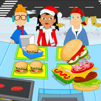 Christmas Hot Burger thumbnail