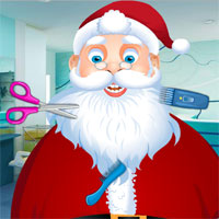 Thumbnail of Santa at Beard Salon