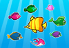 Thumbnail of Colorful Fish Matching