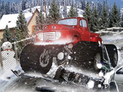 Thumbnail of Heavy Wheels On Snow