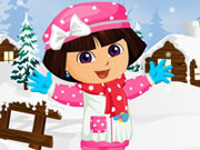 Thumbnail of Dora Winter Fashion Dressup