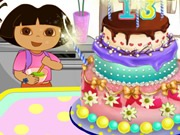 Thumbnail of Dora Make Cake