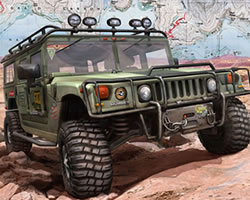 Thumbnail for Hummer Jigsaw