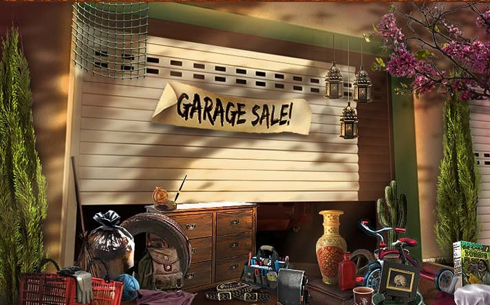 Thumbnail of Suburban Garage Sale