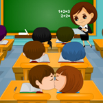 Thumbnail of Classroom Naughty Kiss