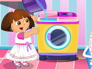 Dora Washing Dresses thumbnail