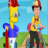 Thumbnail of Sam With Simpson Dress up