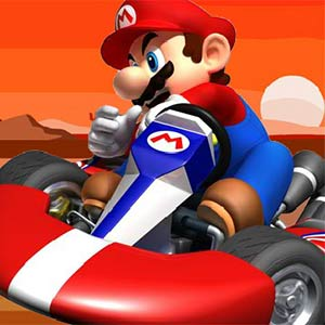 Thumbnail of Mario racing mountain