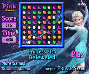 Princess Elsa Bejeweled thumbnail