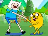 Thumbnail of Adventure Time Skateboarding