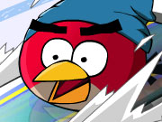 Thumbnail of Angry Birds Skiing