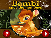 Thumbnail of Bambi Spot the Numbers
