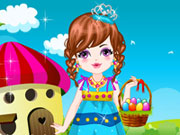 Thumbnail of Cute Baby Easter Day Dressup