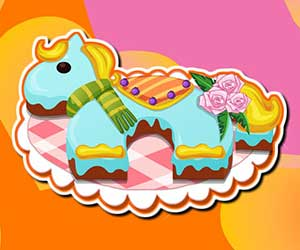 Pony birthday cake thumbnail