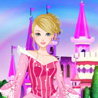 Thumbnail of Lori Princess Dress up