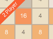 Thumbnail for 2048 2 Player