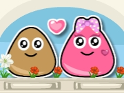 Thumbnail of Pou Lovely Kiss