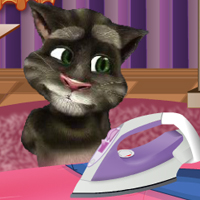 Talking Tom Ironing thumbnail