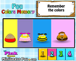Thumbnail of Pou Colors Memory