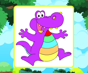 Proud Alligator Coloring thumbnail