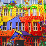 Thumbnail of  Find the Spot-Colorful House