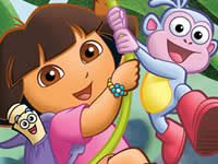 Dora the Explorer - Spot the Difference thumbnail