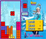 Thumbnail of Princess Elsa Tetris