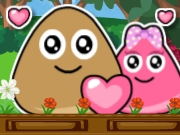 Thumbnail of Pou Lovely Kiss 2