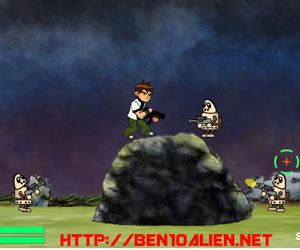 Thumbnail of Ben 10 Robot Invasion