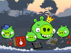 Angrybird Destroy Bad Piggies thumbnail