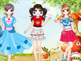 Thumbnail of Three Girls Dress Up
