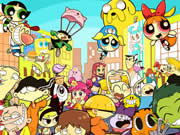 Thumbnail of Popular Cartoons Jigsaw