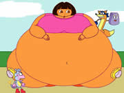 Thumbnail of Balloon Dora Jigsaw