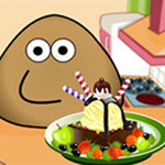 Thumbnail of Pou Ice Cream Decoration