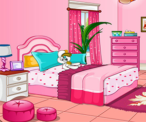 Thumbnail of Girly room decoration game