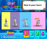Thumbnail of Olaf Colors Memory