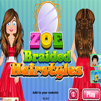 Zoe Braided Hairstyles thumbnail