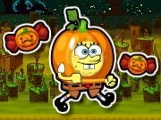 Thumbnail of Spongebob Halloween Run