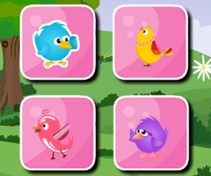 Thumbnail of Joyful Birds Matching