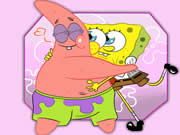 Thumbnail of Patrick and SpongeBob Jigsaw