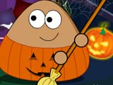 Thumbnail of Pou Halloween Cleanup