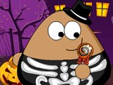 Thumbnail of Pou Halloween Slacking