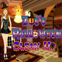 Thumbnail of Zoe Halloween Clean Up